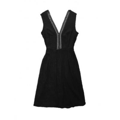 Vestido EFS Negro Encaje