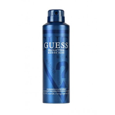Body Spray Guess Seductive Homme Blue